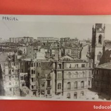 Postales: SANTANDER. INCENDIO 1941. POSTAL FOTOGRÁFICA. VISTA PARCIAL. Lote 133817678