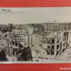 Postales: SANTANDER. INCENDIO 1941. POSTAL FOTOGRÁFICA. VISTA PARCIAL. Lote 133817818