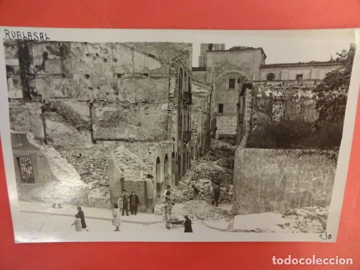 SANTANDER. INCENDIO 1941. POSTAL FOTOGRÁFICA. RUALASAL (Postales - España - Cantabria Moderna (desde 1.940))