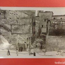 Postales: SANTANDER. INCENDIO 1941. POSTAL FOTOGRÁFICA. RUALASAL. Lote 133818198
