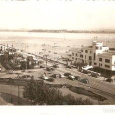 Postales: SANTANDER Nº126 CLUB MARITIMO Y BAHIA ARRIBAS CIRCULADA EN 1956. Lote 134370374