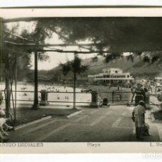 Postales: CASTRO URDIALES (CANTABRIA) PLAYA L. ROSIN ESCRITA EN 1953. Lote 134531990