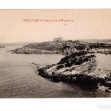 Postales: SANTANDER. (CANTABRIA).- PENINSULA DE LA MAGDALENA. Lote 135096938