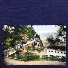 Postales: POSTAL COLOREADA SANTANDER SUBIDA AL PIQUIO ED ARRIBAS. Lote 135176586