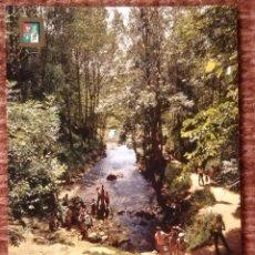 Postales: REINOSA - FONTIBRE - NACIMIENTO DEL RIO EBRO. Lote 136558186