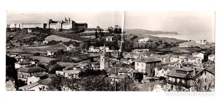 TARJETA POSTAL PANORAMICA COMILLAS. VISTA PARCIAL. Nº 901. EDICIONES ARRIBAS (Postales - España - Cantabria Moderna (desde 1.940))