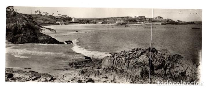 TARJETA POSTAL PANORAMICA COMILLAS. VISTA DESDE EL PORTILLO, AL FONDO LA PLAYA. Nº 903. (Postales - España - Cantabria Moderna (desde 1.940))
