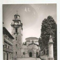 Postales: PUENTE VIESGO - PARROQUIA DE SAN MIGUEL - Nº 1008 ED. F. RUIZ. Lote 137216770