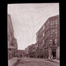 Postales: TORRELAVEGA - CLICHE ORIGINAL - NEGATIVO EN CELULOIDE - AÑOS 1900-1920 - FOTOTIP. THOMAS, BARCELONA. Lote 137689450