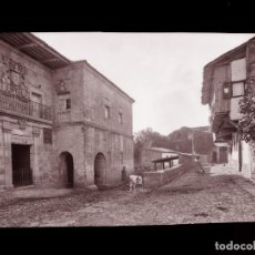 Postales: SANTILLANA DEL MAR - CLICHE ORIGINAL-NEGATIVO EN CELULOIDE- 1900-1920 -FOTOTIP. THOMAS, BARCELONA. Lote 137699018