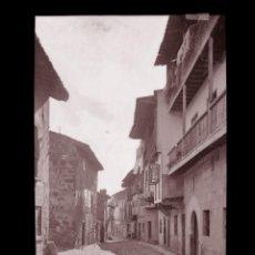 Postales: SANTILLANA DEL MAR - CLICHE ORIGINAL-NEGATIVO EN CELULOIDE- 1900-1920 -FOTOTIP. THOMAS, BARCELONA. Lote 137699038