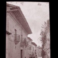 Postales: SANTILLANA DEL MAR - CLICHE ORIGINAL-NEGATIVO EN CELULOIDE- 1900-1920 -FOTOTIP. THOMAS, BARCELONA. Lote 137699090