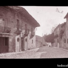 Postales: SANTILLANA DEL MAR - CLICHE ORIGINAL-NEGATIVO EN CELULOIDE- 1900-1920 -FOTOTIP. THOMAS, BARCELONA. Lote 137699202