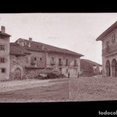 Postales: SANTILLANA DEL MAR - CLICHE ORIGINAL-NEGATIVO EN CELULOIDE- 1900-1920 -FOTOTIP. THOMAS, BARCELONA. Lote 137699246