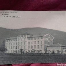Postales: ALCEDA (CANTABRIA), HOTEL DE LOS BAÑOS.. Lote 137980604