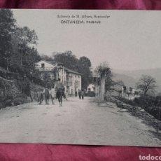 Postales: ONTANEDA (CANTABRIA), PAISAJE.. Lote 137988118