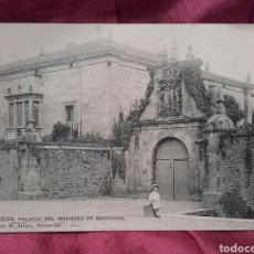 Postales: ALCEDA (CANTABRIA), PALACIO DEL MARQUES DEL MERCADAL.. Lote 137989956