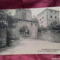 Postales: ALCEDA (CANTABRIA), CASA SOLARIEGA.. Lote 137990761