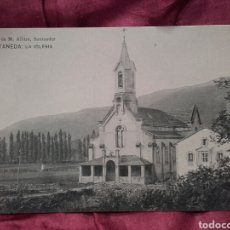 Postales: ONTANEDA (CANTABRIA), LA IGLESIA.. Lote 137991322