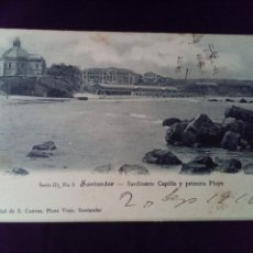 Postales: POSTAL SANTANDER SARDINERO SERIE II N°8 S CUEVAS PRIMERA EPOCA. Lote 139536718