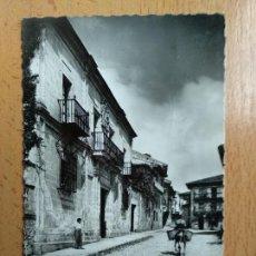 Postais: SANTILLANA - PALACIO MARQUES DE BENAMEJÍ Nº 19 - ED. GARCIA GARRABELLA. Lote 140010698