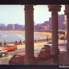 Postales: GIJÓN. *PLAYA DE SAN LORENZO* ED. ALARDE Nº 5-B. CIRCULADA 1991.. Lote 140035082