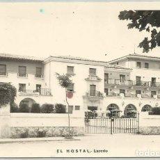 Postales: POSTAL LAREDO EL HOSTAL ED. AUFER . Lote 140072558
