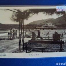 Postales: (PS-58783)POSTAL DE CASTRO URDIALES-JARDINES Y PLAYA. Lote 140276342