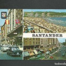Postales: POSTAL CIRCULADA - SANTANDER 116 - EDITA ESCUDO DE ORO. Lote 140428158