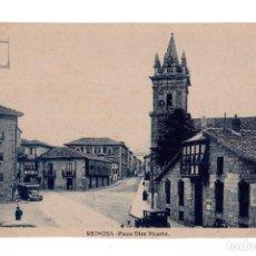 Postales: REINOSA (CANTABRIA).- PLAZA DE DIEZ VICARIO. Lote 140435558