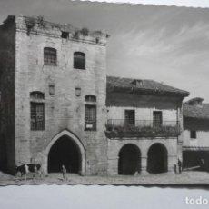 Postales: POSTAL SANTILLANA -CASA DE LOS BORJA,HOY INFANTA PAZ CM. Lote 140461806