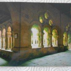 Postales: SANTILLANA DEL MAR. CANTABRIA. CLAUSTRO DE LA COLEGIATA. TARJETA POSTAL.. Lote 140473690