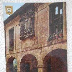 Postales: SANTILLANA DEL MAR. CANTABRIA. CASA DE LOS HOMBRONES. TARJETA POSTAL.. Lote 140474230