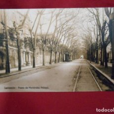 Postales: ANTIGUA POSTAL - SANTANDER - PASEO MENENDEZ PELAYO- SIN CIRCULAR -. Lote 142474678