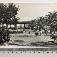 Postales: POSTAL. SANTANDER. JARDINES DE PIQUIO. GARCÍA GARRABELLA. H. 1960?. Lote 142253624