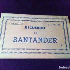 Postales: POSTAL RECUERDO DE SANTANDER I EDICIONES ARRIBAS. Lote 142287878