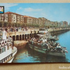 Postales: POSTAL SANTANDER, EMBARCADERO. Lote 142332174