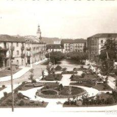Postales: TORRELAVEGA Nº3 BULEVAR ARRIBAS CIRCULADA EN 1960. Lote 142885946