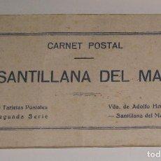 Postales: BLOC DE POSTALES ** SANTILLANA DEL MAR ** ED. VDA- DE ADOLFO HERRERO. Lote 142975978