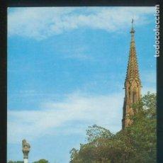 Postales: COMILLAS. *JARDINES P. MARQUÉS DE COMILLAS* ED. G. GARRABELLA-ZGZ Nº 129. NUEVA.. Lote 143406770