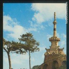 Postales: COMILLAS. *ESTATUA DEL MARQUÉS DE COMILLAS* ED. G. GARRABELLA-ZGZ Nº 347. CIRCULADA COMILLAS 1979.. Lote 143407650
