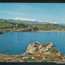 Postales: COMILLAS. *LA COSTA. AL FONDO, PICOS DE EUROPA* ED. FOTO IMPERIO. NUEVA.. Lote 143410378