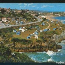 Postales: COMILLAS. *EL CAMPING* ED. FOTO IMPERIO. CIRCULADA 1970.. Lote 143410562