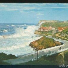 Postales: COMILLAS. *ACANTILADOS DE LA ATALAYA* ED. FOTO IMPERIO Nº 4. NUEVA.. Lote 143410658
