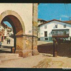 Postales: COMILLAS. *PORCHE DEL AYUNTAMIENTO...* ED. FOTO IMPERIO - RO-FOTO Nº 10. CIRCULADA COMILLAS 1969.. Lote 143412794
