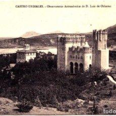 Postales: CASTRO URDIALES (SANTANDER) - OBSERVATORIO ASTRONOMICO DE DON LUIS DE OCHARAN. Lote 143554202