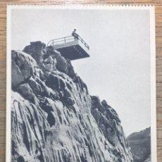 Postales: TARJETA POSTAL PICOS DE EUROPA - MIRADOR DEL CABLE - POTES (CANTABRIA) - FOTÓGRAFO E. BUSTAMANTE. Lote 144992913