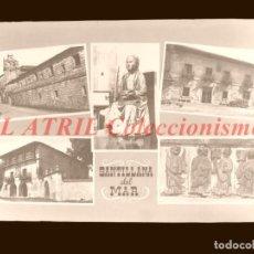 Postales: 1 CLICHE ORIGINAL - SANTILLANA DEL MAR - NEGATIVO EN CRISTAL - EDICIONES ARRIBAS. Lote 145481078