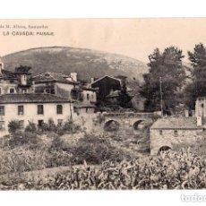 Postales: LA CAVADA.(CANTABRIA).- PAISAJE. LIBRERIA DE M. ALBIRA. Lote 146089450