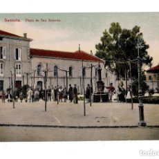 Postales: SANTOÑA.(CANTABRIA).- PLAZA SAN ANTONIO. Lote 146102266